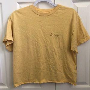 Brandy Melville j. Galt honey shirt